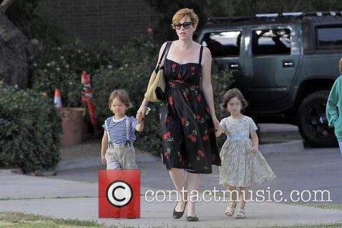 Molly Ringwald, Adele Gianopoulos and Roman Gianopoulos 3