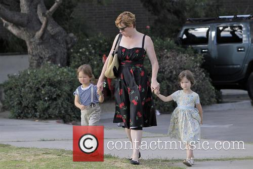 Molly Ringwald, Adele Gianopoulos and Roman Gianopoulos 6