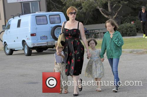 Molly Ringwald, Adele Gianopoulos, Roman Gianopoulos and Mathilda Gianopoulos 7