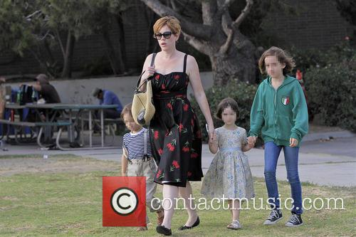 Molly Ringwald, Adele Gianopoulos, Roman Gianopoulos and Mathilda Gianopoulos 8