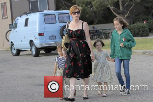 Molly Ringwald, Adele Gianopoulos, Roman Gianopoulos and Mathilda Gianopoulos 1