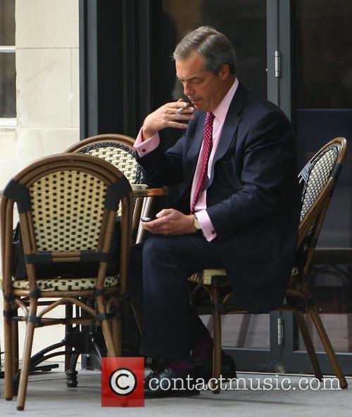 Nigel Farage coffee shop