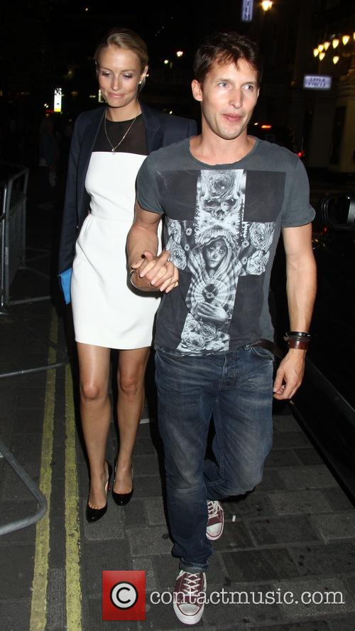 James Blunt and Sofia Wellesley 2