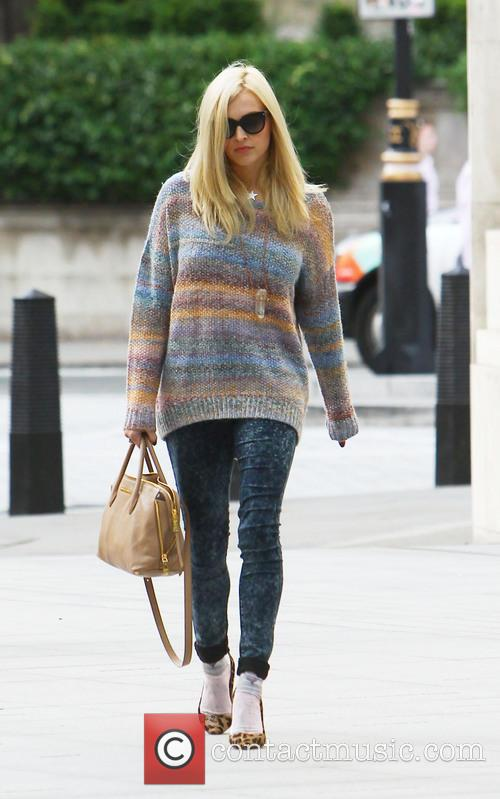 Fearne Cotton's first day back at BBC Radio...