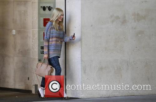 Fearne Cotton is pictured leaving Radio 1