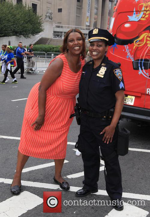 Letitia James and Sgt. Bradley 3