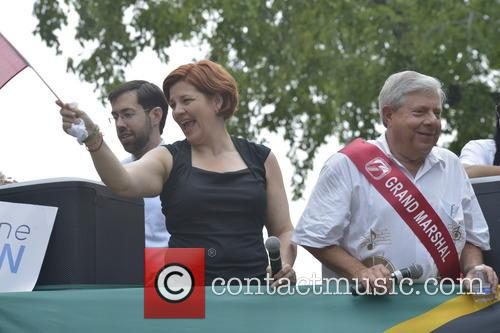 Kathleen Quinn and Marty Markowitz