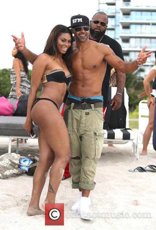 Shemar Moore On Miami Beach