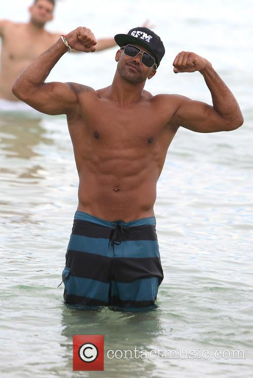 shemar moore shemar moore on miami beach 3846460