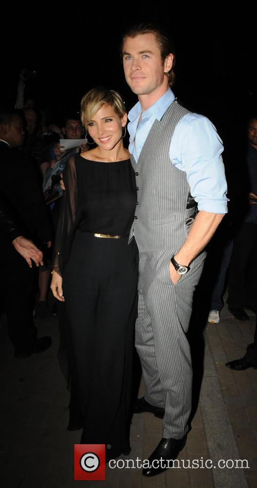 Chris Hemsworth and Elsa Pataky 2
