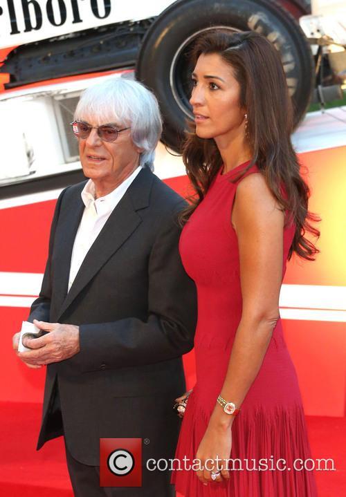 Bernie Ecclestone and Fabiana Flosi 4
