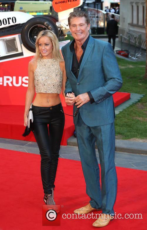 David Hasselhoff and Hayley Roberts 5