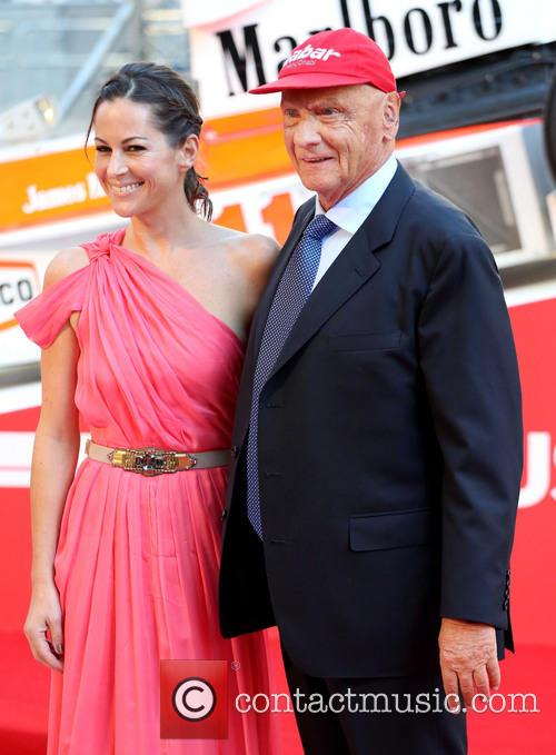 Niki Lauda and Birgit Lauda 10