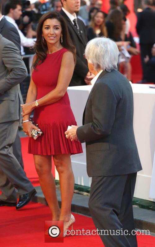 Bernie Ecclestone and Fabiana Flosi 5