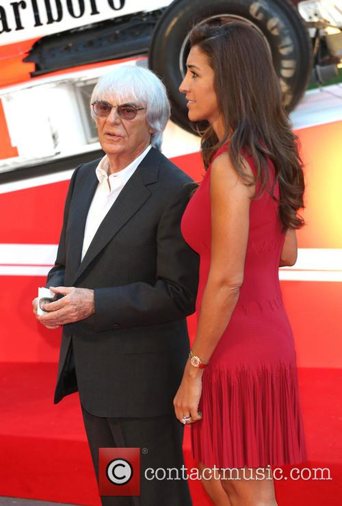 Bernie Ecclestone and Fabiana Flosi 8