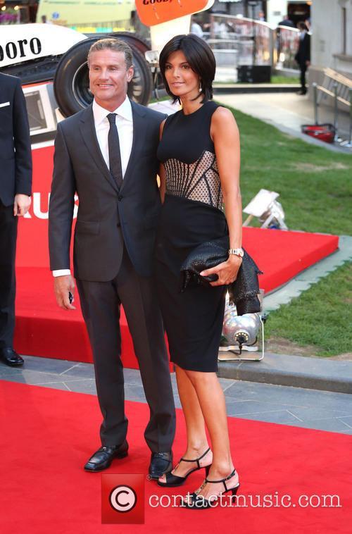 David Coulthard and Karen Minier 3