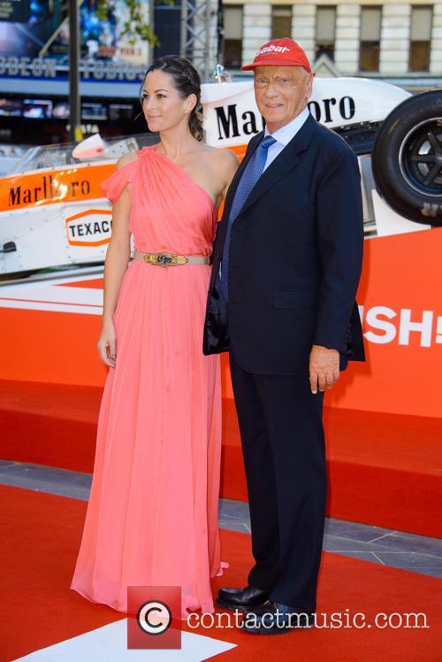 Birgit Lauda - World Premiere Of 'Rush'