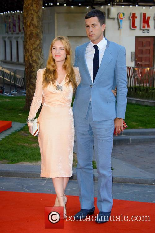 Josephine De La Baume and Mark Ronson 8