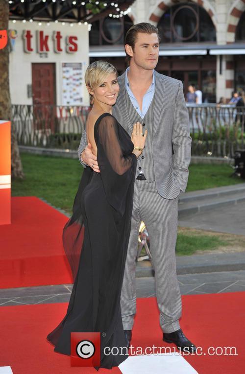 Chris Hemsworth and Elsa Pataky 12