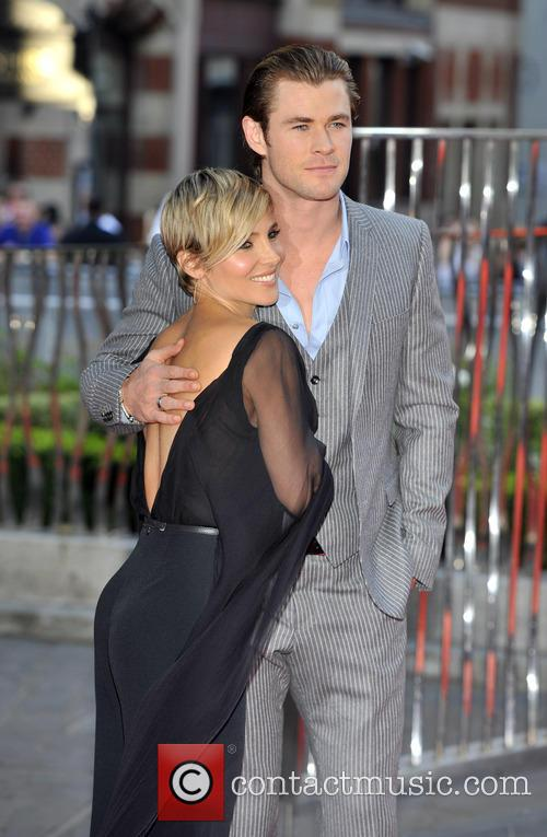 Chris Hemsworth and Elsa Pataky 1