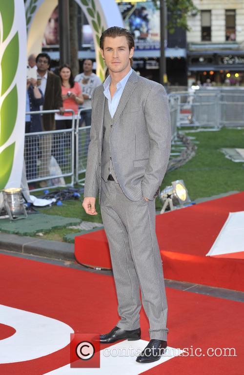 Chris Hemsworth, Odeon Leicester Square
