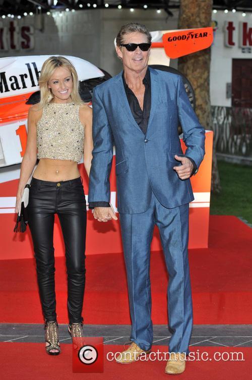 David Hasselhoff and Hayley Roberts 8