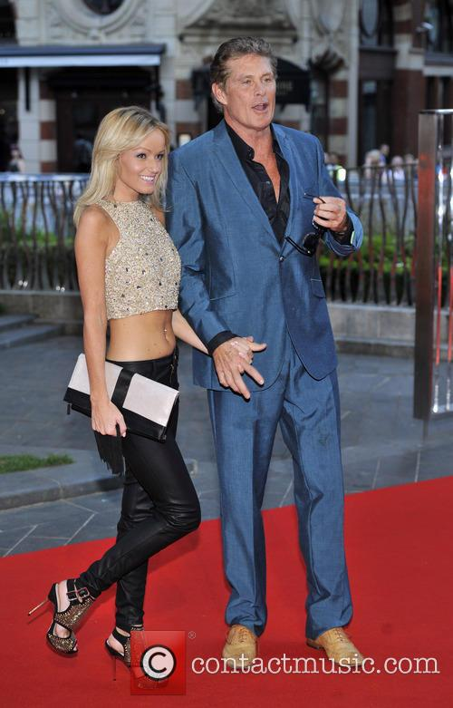 David Hasselhoff, Hayley Roberts, Odeon Leicester Square