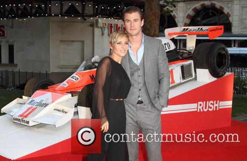 chris hemsworth elsa pataky world premiere of rush 3846414