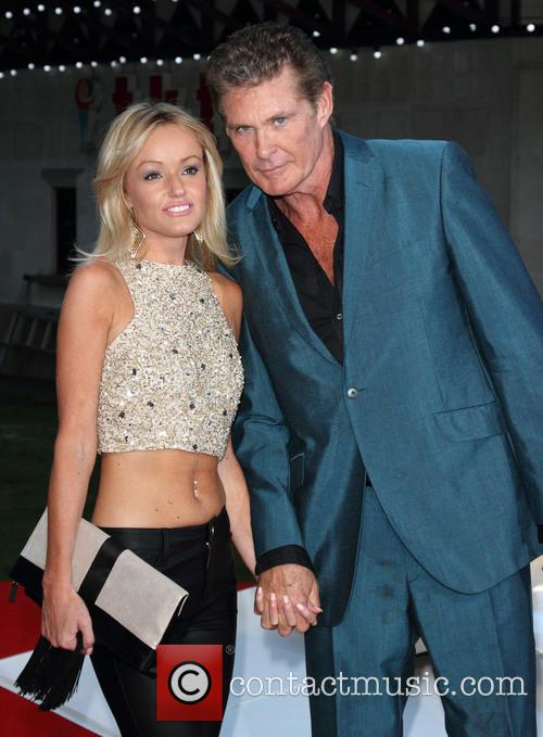 david hasselhoff hayley roberts world premiere of rush 3846394