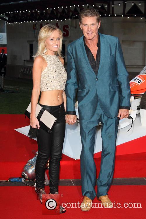 David Hasselhoff and Hayley Roberts 7