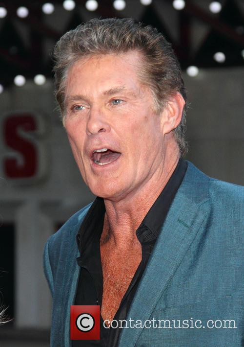 David Hasselhoff, Odeon Leicester Square