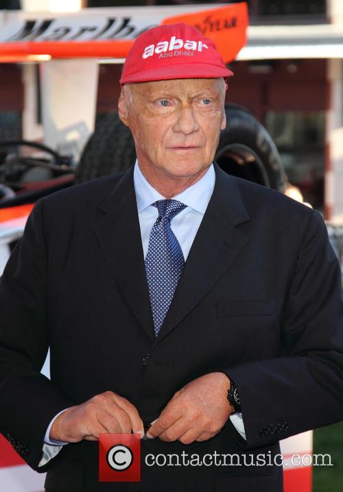 Niki Lauda, Odeon Leicester Square