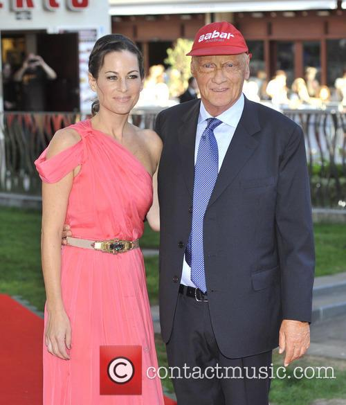 Niki Lauda and Birgit Lauda 4