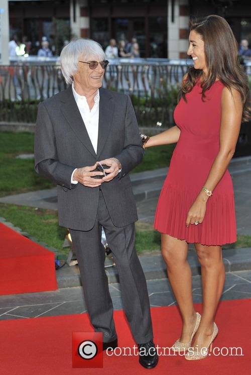 Bernie Ecclestone and Fabiana Flosi 1