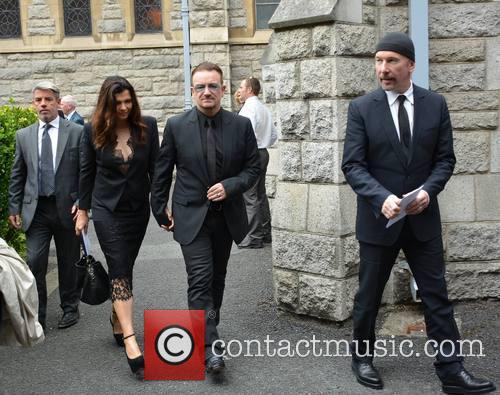 Bono, Ali Hewson and The Edge 3