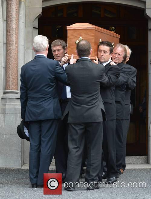 The funeral of poet Seamus Heaney