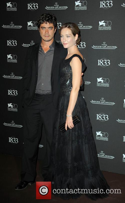 Riccardo Scamarcio and Cristiana Capotondi