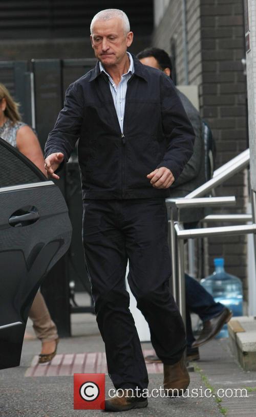 Wiliam Reid at the ITV Studios