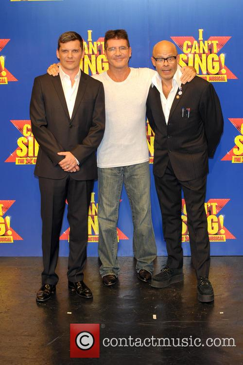 Simon Cowell, Harry Hill and Nigel Harman 4