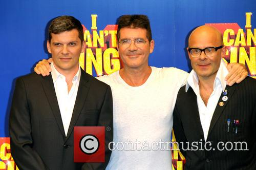Simon Cowell, Harry Hill and Nigel Harman 5