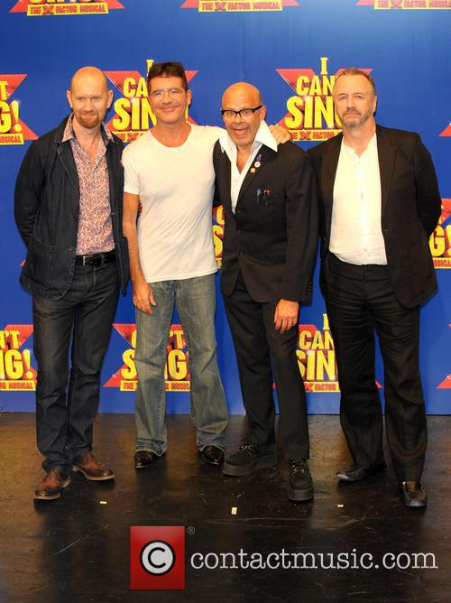 Simon Cowell, Harry Hill, Steve Brown and Sean Foley 7