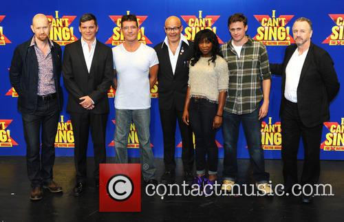 Simon Cowell, Harry Hill, Steve Brown, Sean Foley, Nigel Harman, Cynthia Ervio and Alan Morrisey 3