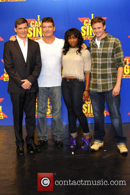 Simon Cowell, Nigel Harman, Cynthia Ervio and Alan Morrisey 2