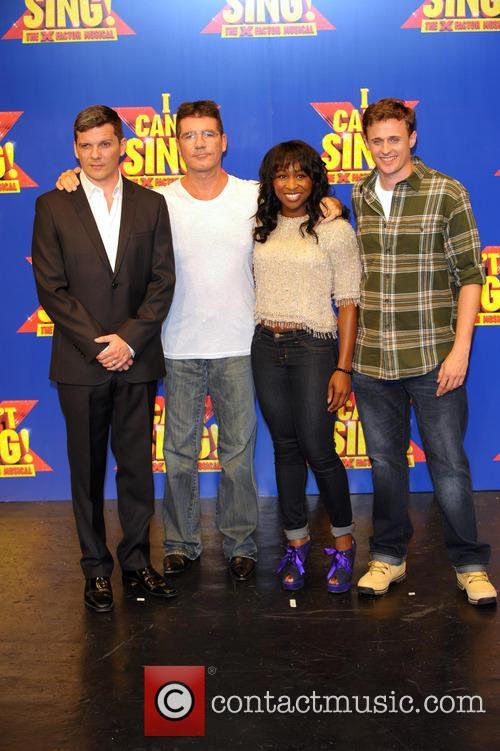 Simon Cowell, Nigel Harman, Cynthia Ervio and Alan Morrisey 10