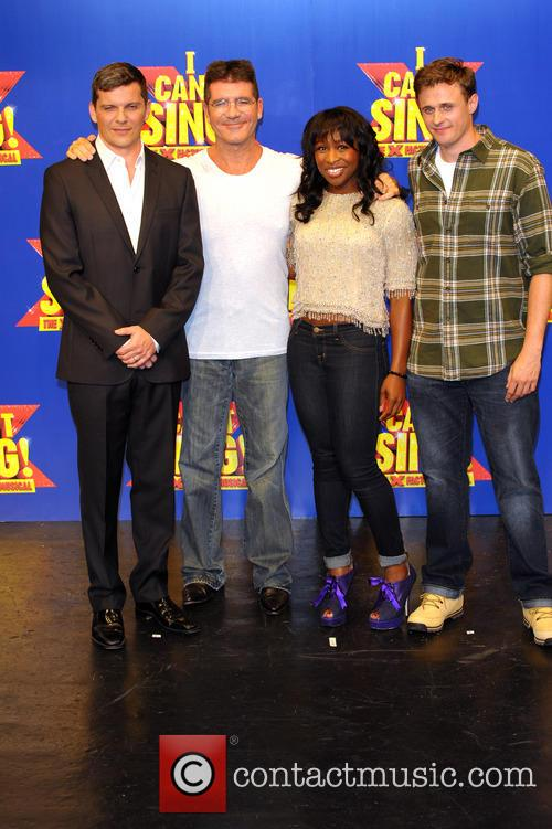 Simon Cowell, Nigel Harman, Cynthia Ervio and Alan Morrisey 11