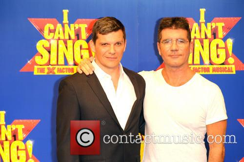Simon Cowell and Nigel Harman 6