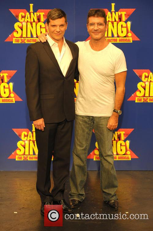 Simon Cowell and Nigel Harman 1