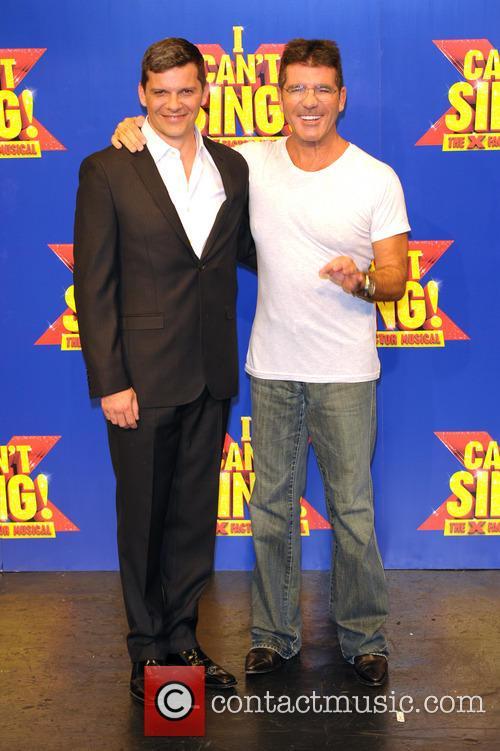 Simon Cowell and Nigel Harman 5