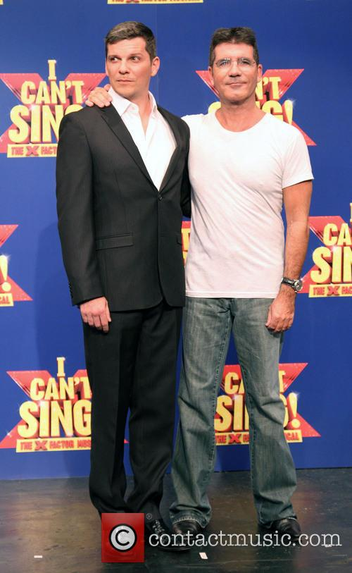 Nigel Harman and Simon Cowell 4