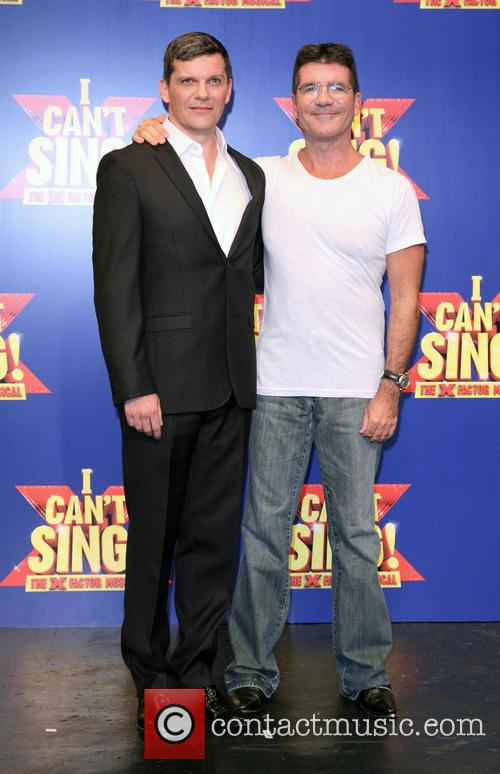 Nigel Harman and Simon Cowell 5